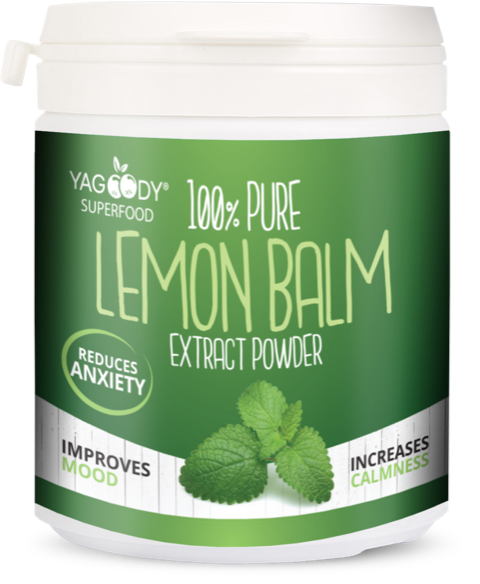 Lemon balm extract powder