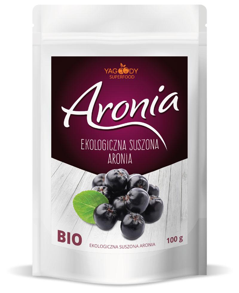 Organic Dried Aronia Berries