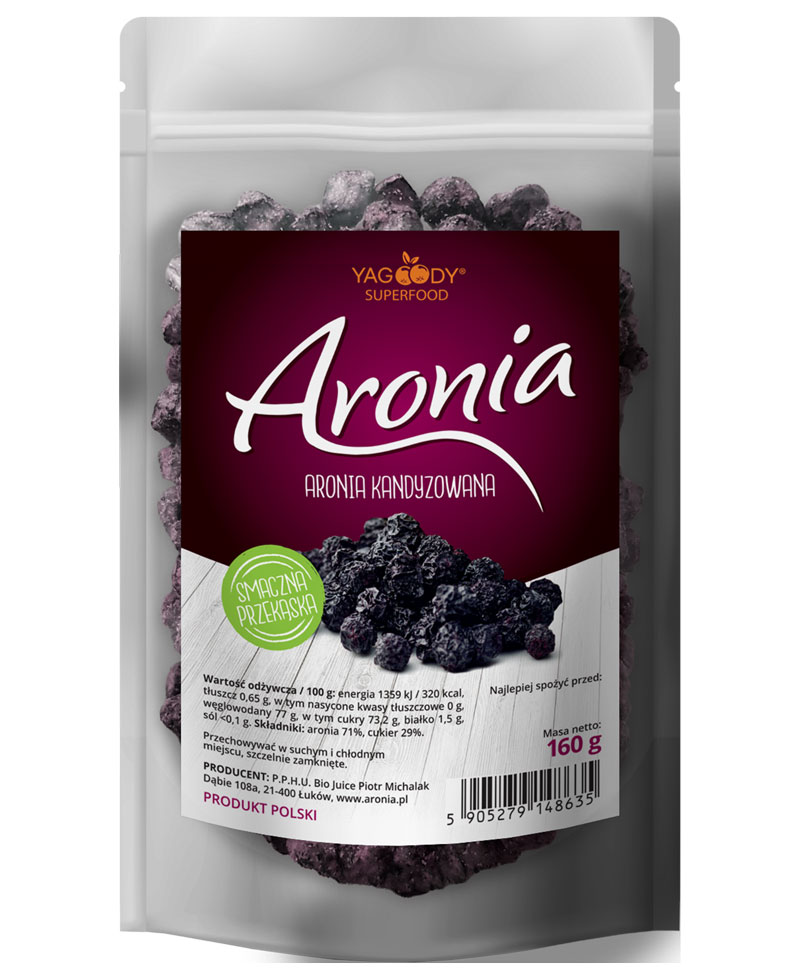 Candied Aronia Berries