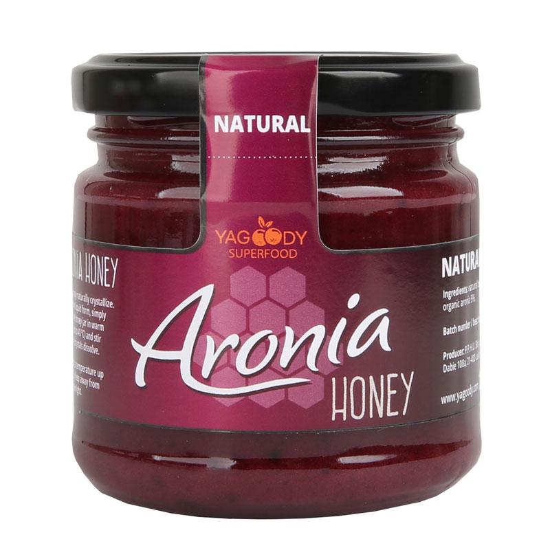 Naturalny miód z aronią