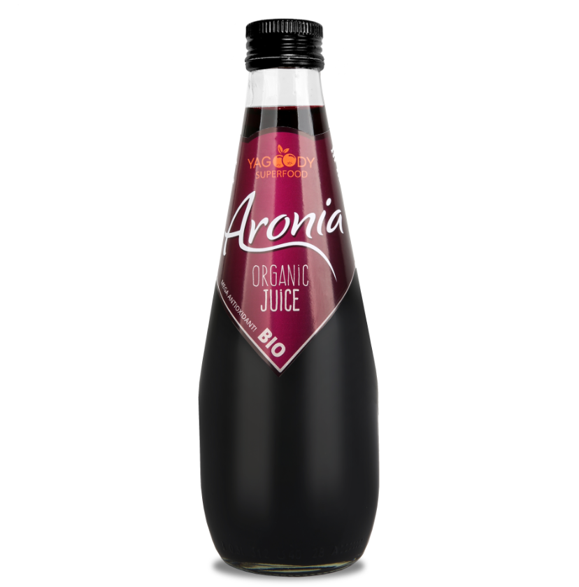 Ekologiczny sok z aronii 100% NFC